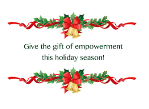 Give the gift of empowerment